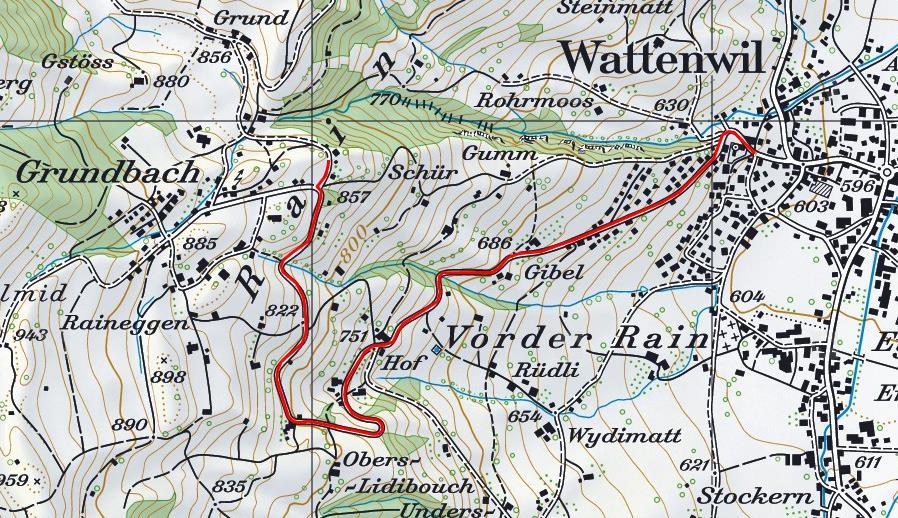 Wattenwil Grundbach